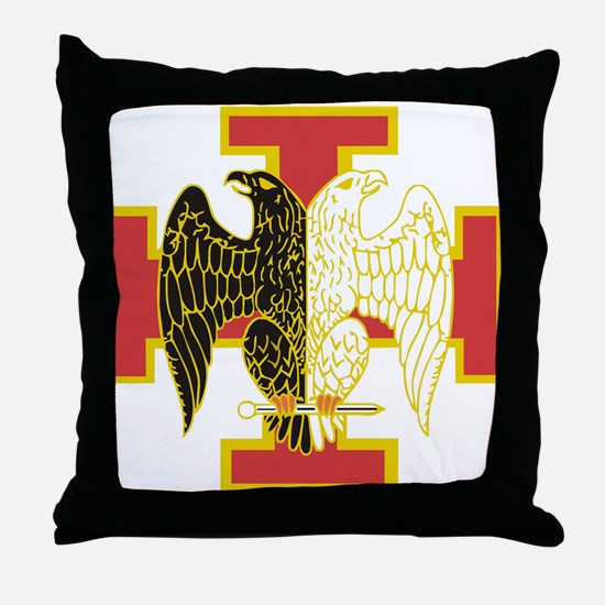 30th Degree Throw Pillow