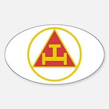Royal Arch Gold Sticker (oval)