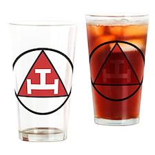 Royal Arch Black Drinking Glass
