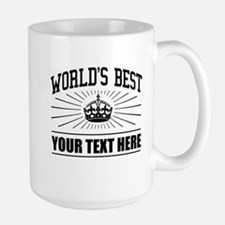 World's best ... Large Mug