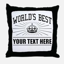 World's best ... Throw Pillow