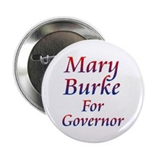 """Mary Burke For Governor 2.25"""" Button (10 Pack"""