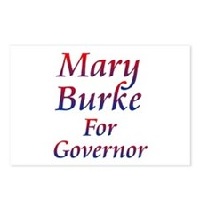 Mary Burke For Governor Postcards (package Of 8)