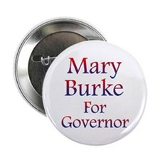 """Mary Burke For Governor 2.25"""" Button (100 Pac"""