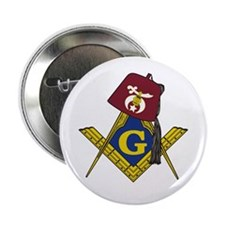 "Masonic Shriner 2.25"" Button"