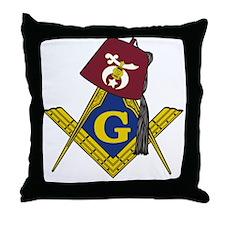 Masonic Shriner Throw Pillow