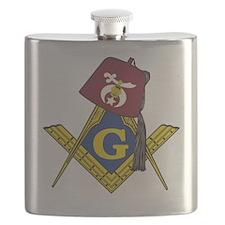 Masonic Shriner Flask