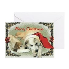 Great Pyrenees Cards, pk of 10, Merry Christmas