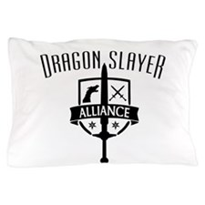Cute Dragon and dice Pillow Case