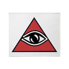 Mystic Eye Throw Blanket