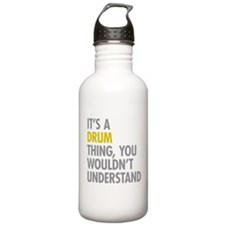 Its A Drum Thing Water Bottle
