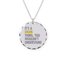 Its A Drum Thing Necklace