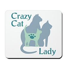 Crazy Cat Lady2222 Mousepad