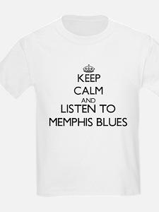 Keep calm and listen to MEMPHIS BLUES T-Shirt