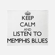 Memphis radio Throw Blanket