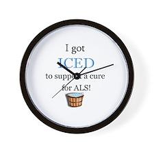 Got Iced Wall Clock