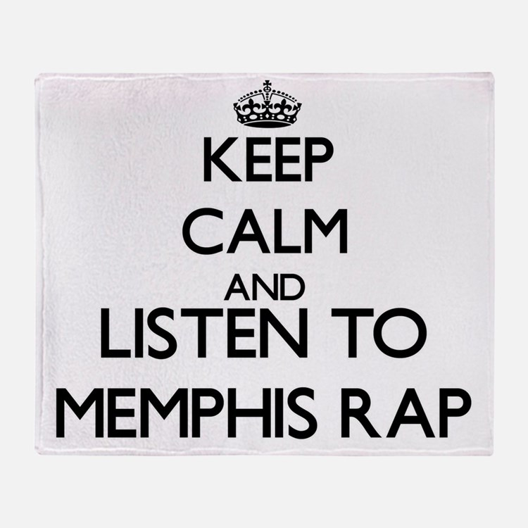 Cute Memphis radio Throw Blanket