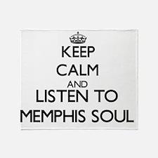 Unique Memphis radio Throw Blanket