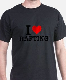 I Love Rafting T-Shirt