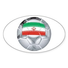 Iran Football Oval Decal