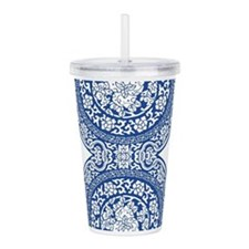 Funny Patterns damask Acrylic Double-wall Tumbler