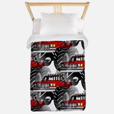RED MONSTER TRUCK Twin Duvet