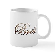 Gold Brett Mugs