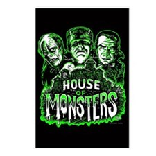 House of Monsters Postcards (Package of 8)