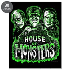 Monsters Haunted House Puzzle