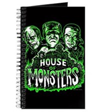 Monsters Haunted House Journal