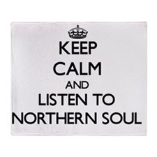 Unique Northern soul Throw Blanket