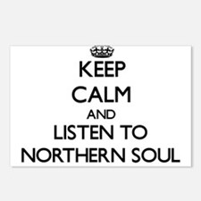 Unique Northern soul Postcards (Package of 8)