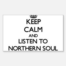 Keep calm and listen to NORTHERN SOUL Decal