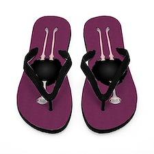 Ostrich Flip Flops