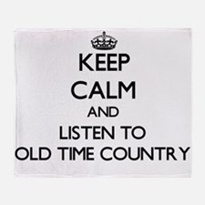 Cool Old time radio Throw Blanket