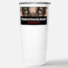 Cool Police dog Travel Mug