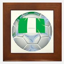 Nigeria Football Framed Tile