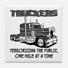Truckers-Terrorizing The Public, One Tile Coaster