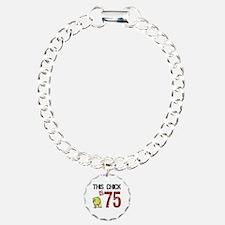 Women's Funny 75th Birth Bracelet