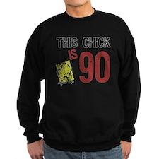 Women's Funny 90th Birthday Jumper Sweater