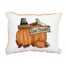 Thanksgiving Rectangular Canvas Pillow