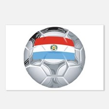 Paraguay Football Postcards (Package of 8)