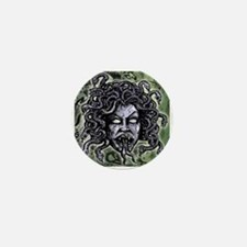 Head of Medusa Mini Button