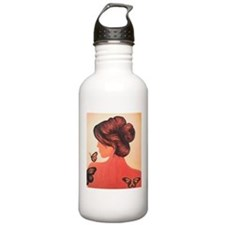 MS butterflies in flight Water Bottle