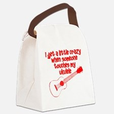 Ukulele Crazy Canvas Lunch Bag