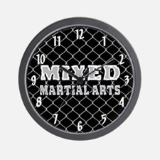 Mixed Martial Arts Wall Clock
