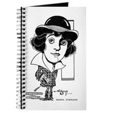 Mabel Normand 1917 caricature Journal