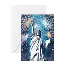 Unique Statues Greeting Card