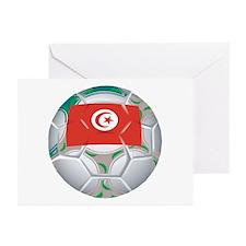 Tunisia Football Greeting Cards (Pk of 10)