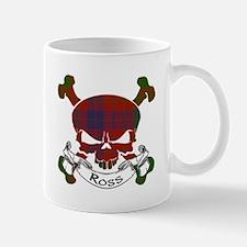 Ross Tartan Skull Mug